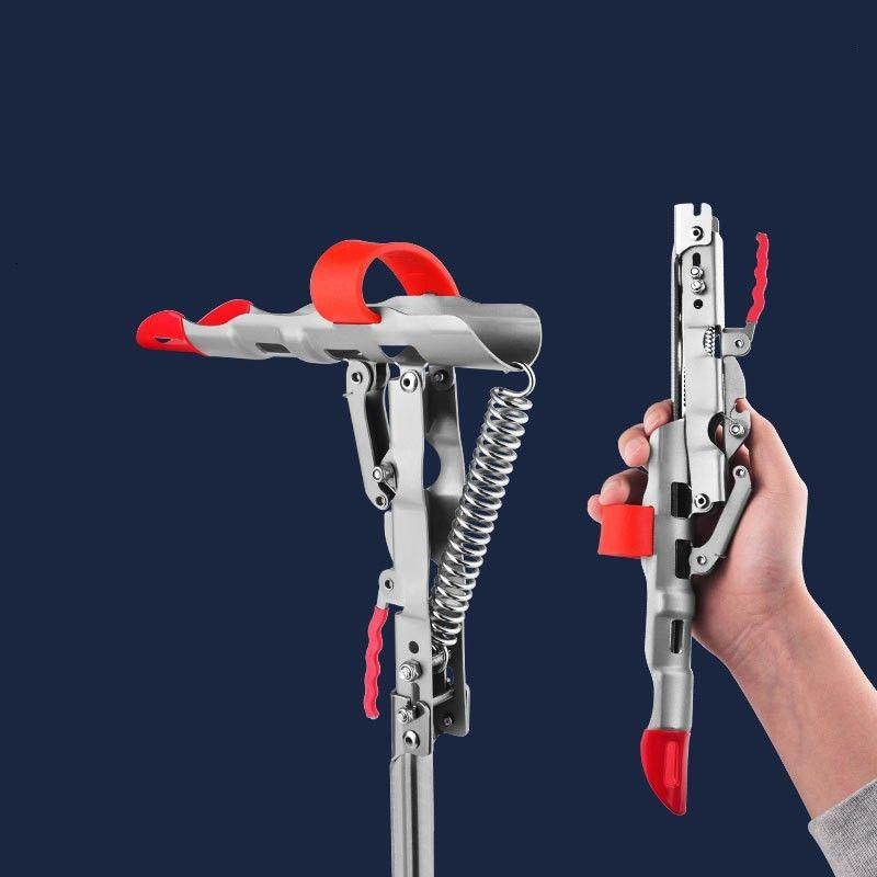 Neue Angelruten Inhaber Frühling Automatischer Edelstahl Einstellbare Empfindlichkeit Falten Angelzubehör Halterung 412 x2