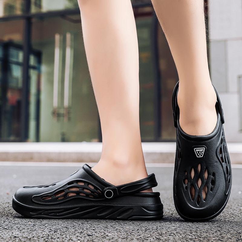 Yeni Moda Terlik Slaytlar Uygun Ayakkabı Kadın Yumuşak Atletik Yukarı Toptan Hafif Bahar Stokta İki Boyutu 36-48