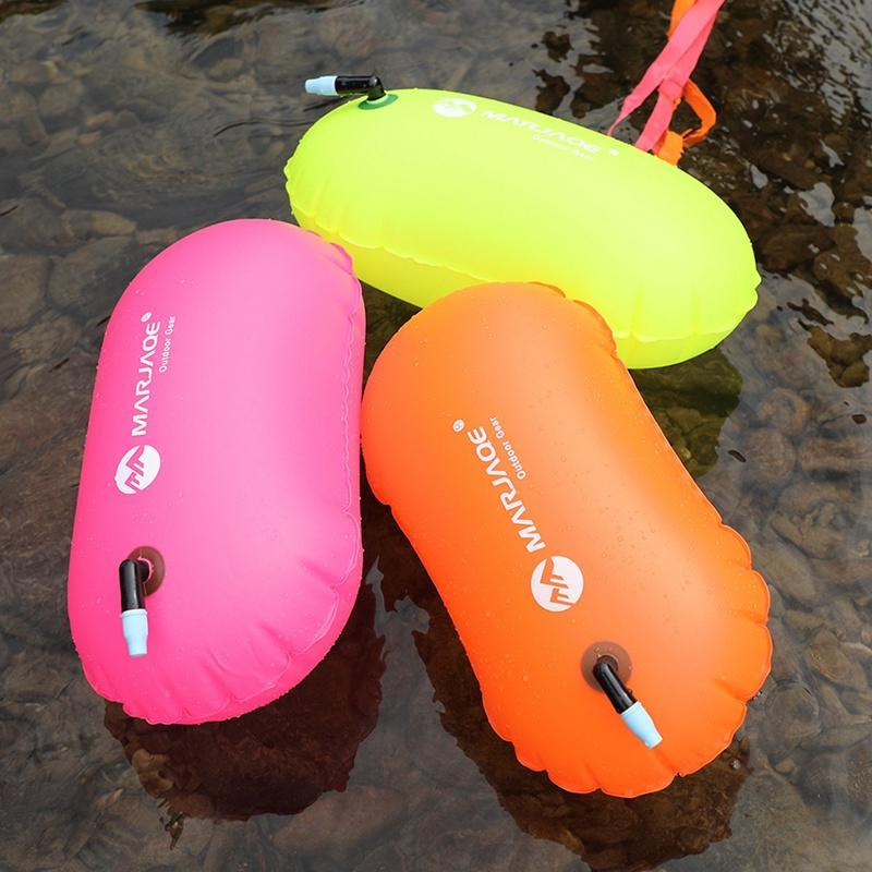 Lebensweste Boje Schwimmsicherheit Luft Dry Tow Bag Float Pack Wasserdichte PVC Aufblasbare Schwimmen Wasser Sport Lifesaver Pool Open Wild 1PC