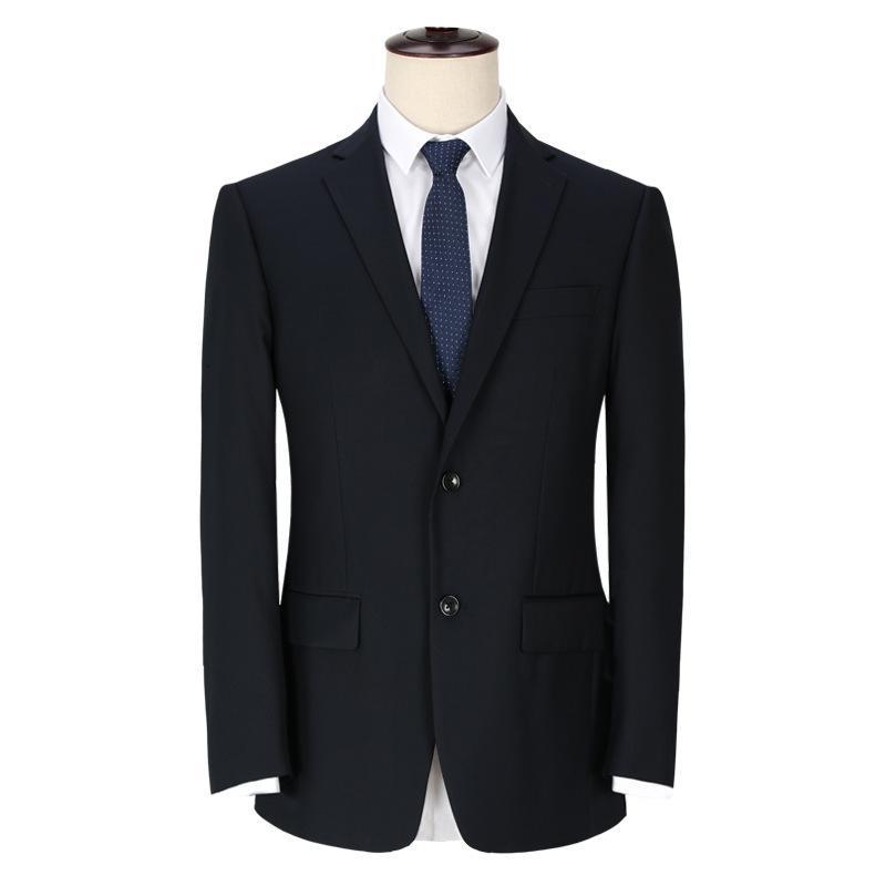 Anzüge Langjun Business Two Getreideknopf Formale Slim Fit Männer Professionelle Anzug Bräutigam Hochzeitskleid