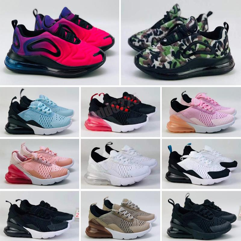 Kids MX Running shoes Trainers Summer Breathable Infant Worldwide White Black Magma Silver Bullet University Red Tennis