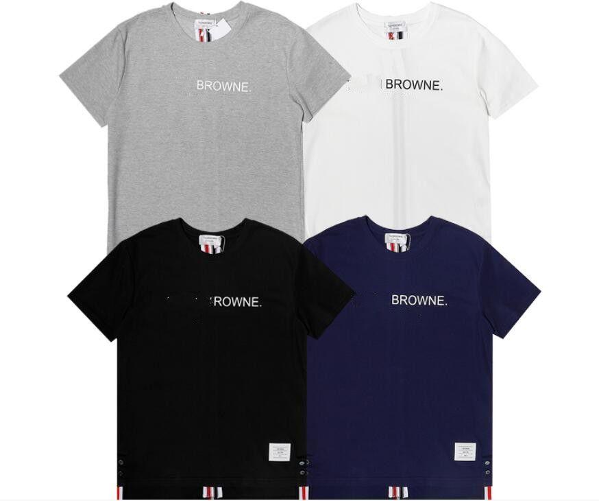 2021 Frauen Männer Pullover Sommer Mode Trend Buchstaben Strass Rundhals Kurzarm T-Shirt