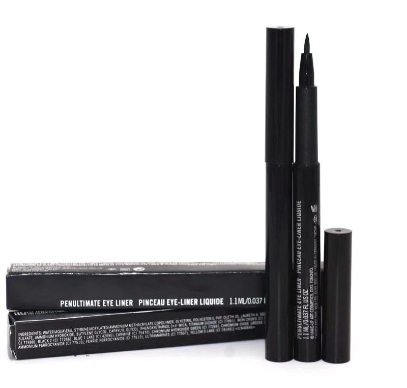 Maquillage éolonaufauner crayon noire doublure noire liner liquide stylo facile à porter naturel rapide sec de 1.1ml yeux professionnels cosmétiques