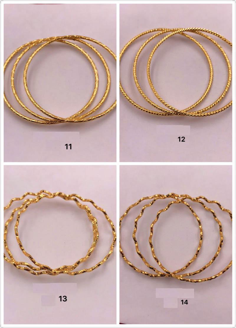 Frauen Gold Armband Fine Schmuck nicht verblassen 18 Karat vergoldete Mode Wellenarmbänder PS1959