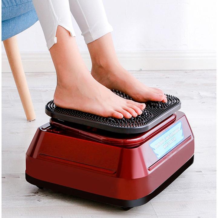 الدورة الدموية الدورة القدم الساق بعقب مدلك كهربائي كامل الجسم تهتز متعددة الوظائف عالية التردد الهزاز مدلك دائري
