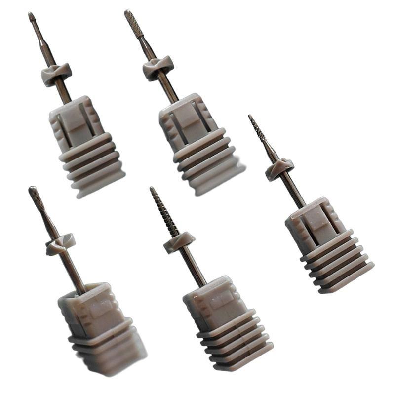 Bits de taladro de uñas para uñas de acrílico - Equipo de arte profesional de bits