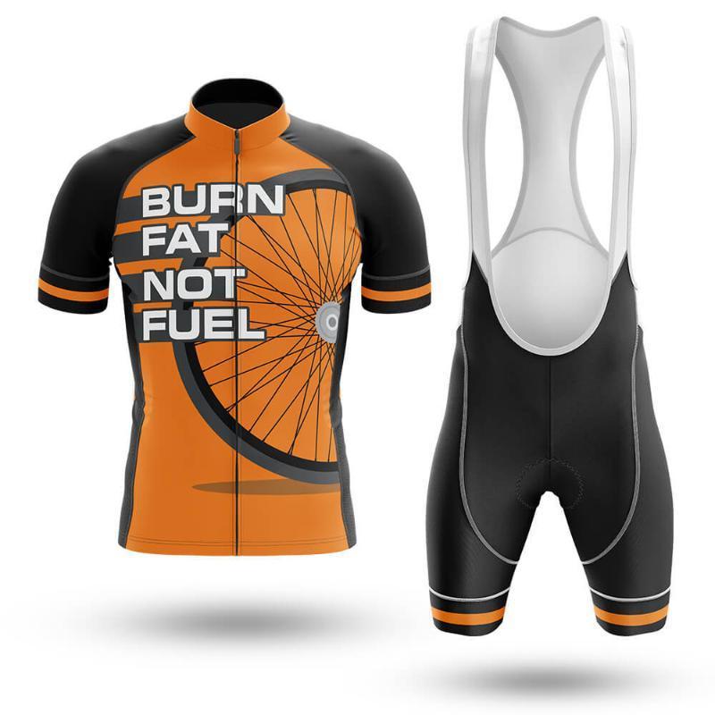 Гоночные наборы Летняя сжигание Жир не топливо Велоспорт Джерси набор Maillot ROPA Ciclismo Велосипедная одежда MTB Bike Одежда