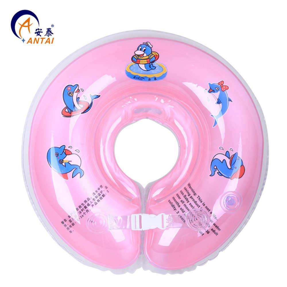 Anello del collo per bambini, anello di nuoto regolabile della dimensione gonfiabile in PVC