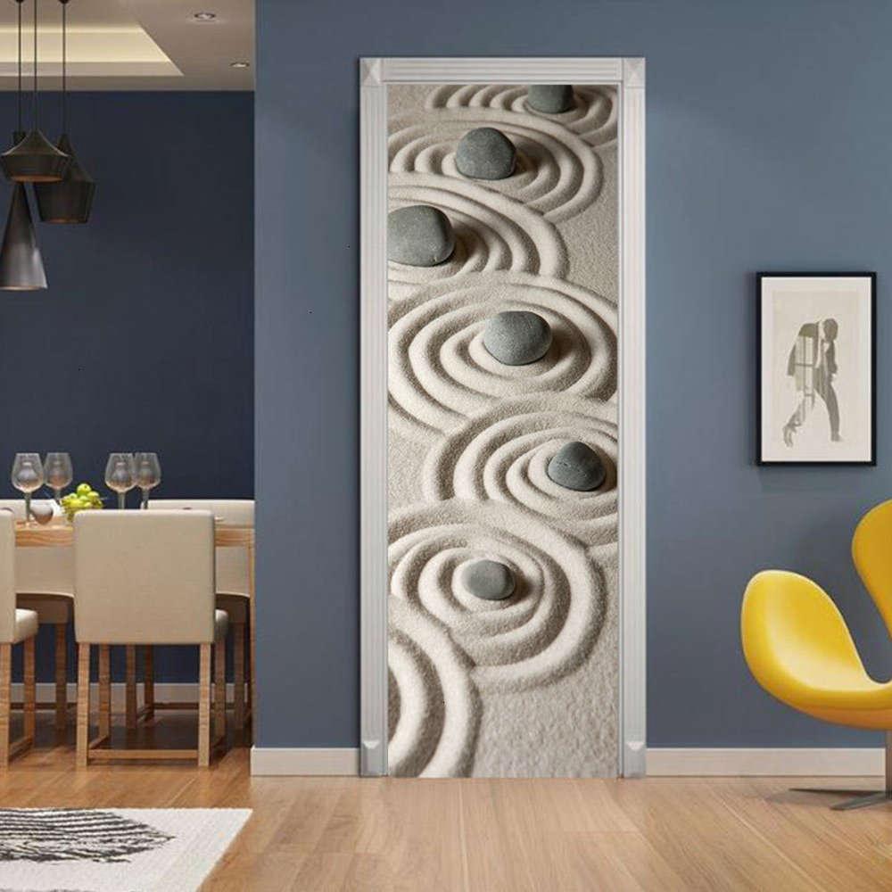 Adesivos decorativos 3D proteção ambiental Pedra de pedra Creative Flow Pasta Renovação Auto Adhive Quarto Parede PVC Etiqueta