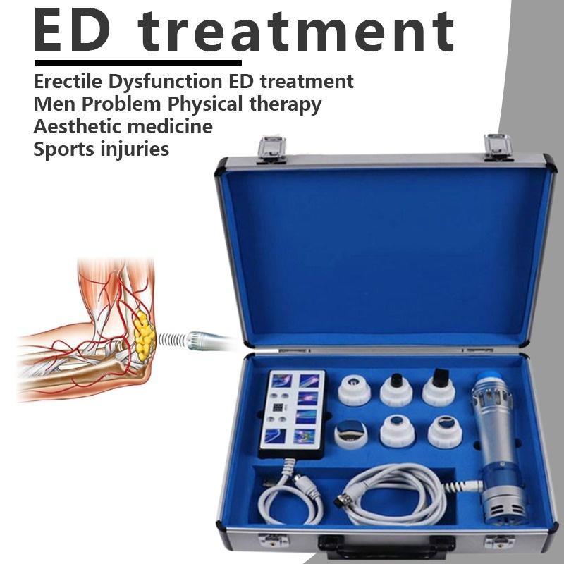المحمولة منخفضة كثافة نبض الصدمات موجة الصوت موجة آلة العلاج ل ad treamment، EDSWT معدات العلاج بالعلاج