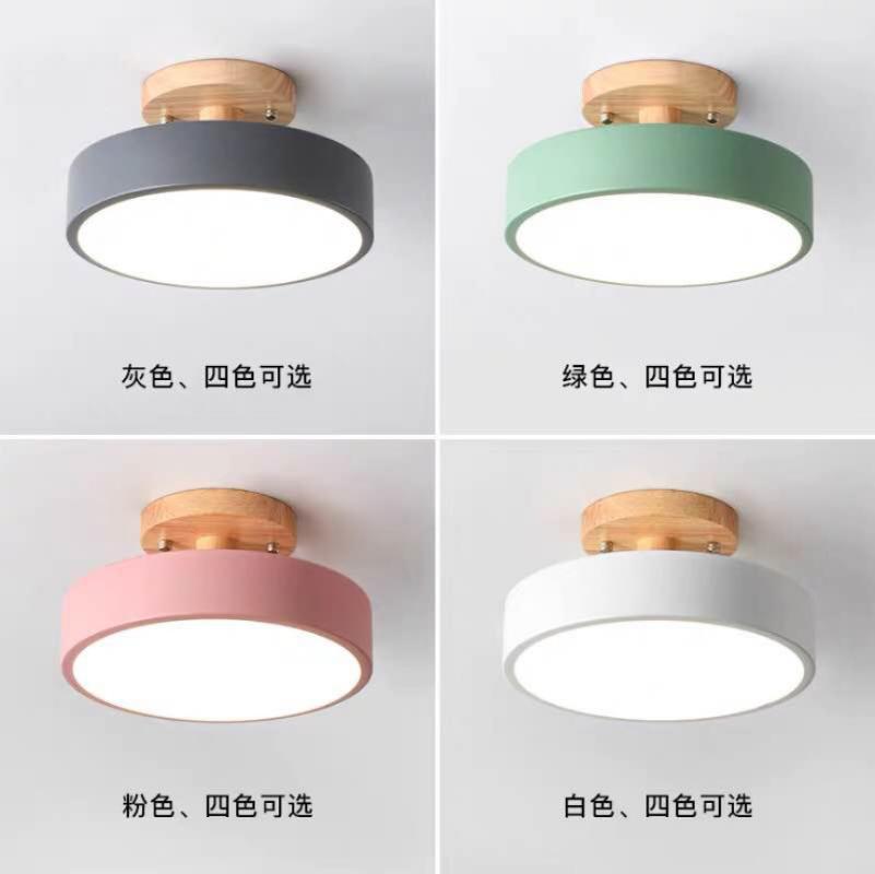 Ceiling Lights Nordic Lamp Fixtures Balcony Porch Restaurant Living Room Lighting Light E27 Led Lamps