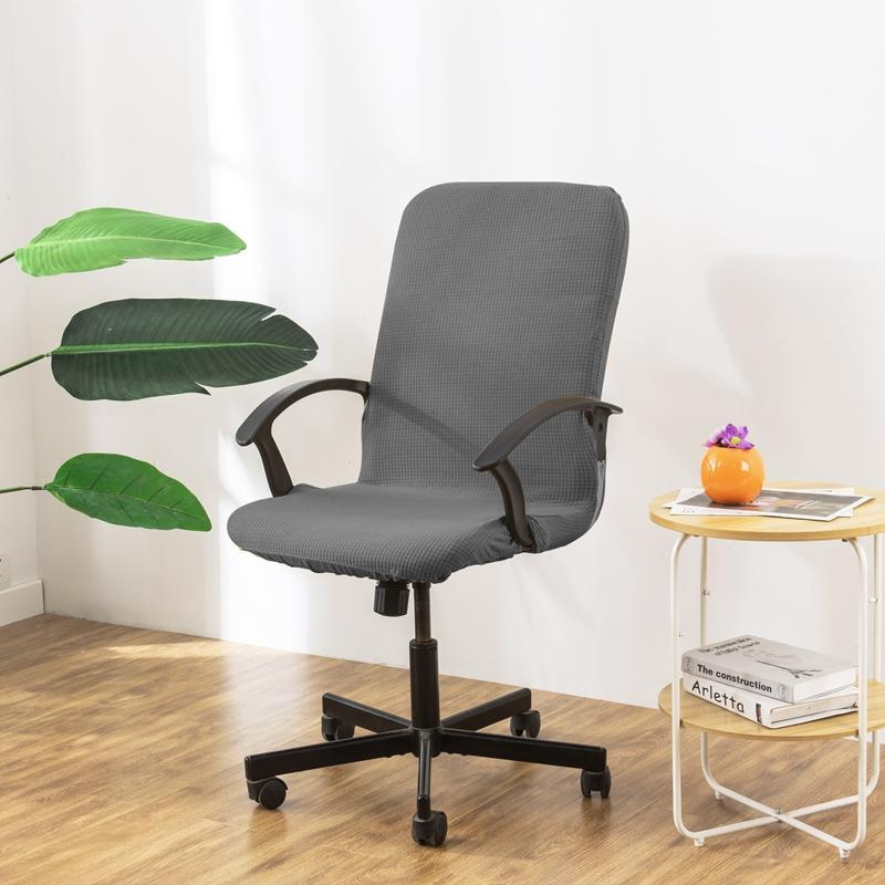 Chair Covers Cover For Computer Slipcover Arm Slipcovers Jacquard Office Elastic Home Armchair 1PC