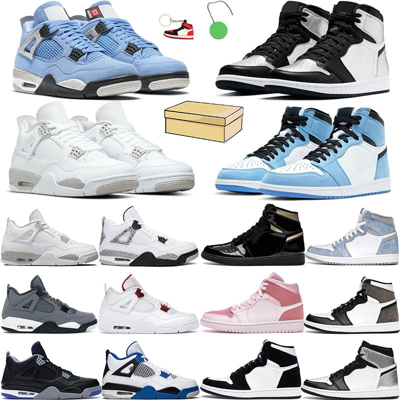 4s chaussures de basketball hommes femmes Jumpman 1S High OG Hyper Royal Cactus Jack blanc Oreo Université Bleu Black Cat Silt Cat Silt Rouge Pure Money Mens Sneakers