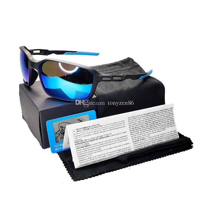 Óculos de sol masculinos marca designer tr90 quadro polaroied lente 8 cor modelo 9249 óculos de sol goggles ciclismo óculos rolando óculos de sol