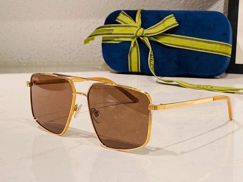 نظارات شمسية للرجال والنساء الصيف نمط مكافحة الأشعة فوق البنفسجية 0941 ثانية الرجعية لوحة المعادن البيضاوي إطار كامل الأزياء النظارات مربع عشوائي