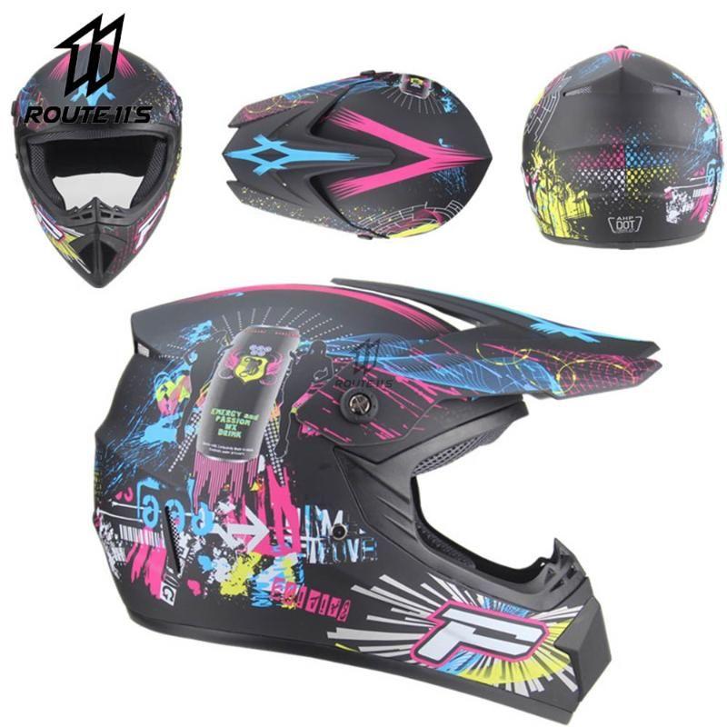 도로 전문 ATV 크로스 헬멧 DH 레이싱 오토바이 흙 자전거 Capacete 드 모토 카스코 오프 Motocross 헬멧