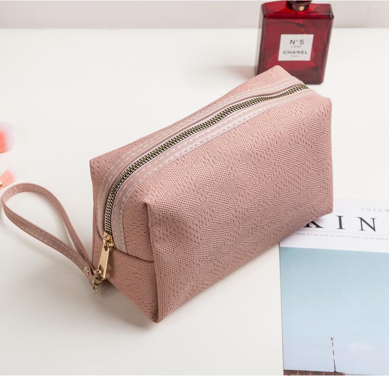 أكياس التجميل الحالات سعة كبيرة ماكياج فرش حقيبة المرأة مصغرة مخلب سيدة الإسقاط الجمال