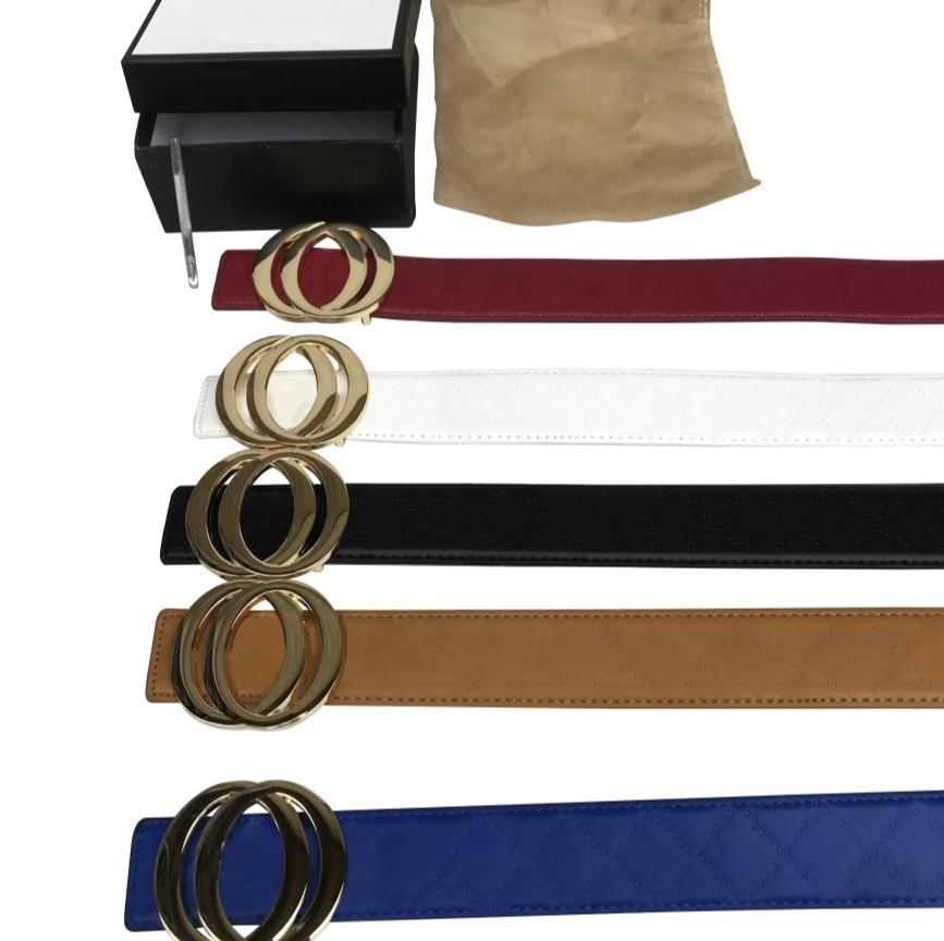 أزياء كبيرة مشبك جلد طبيعي حزام تقليد مع صندوق مصمم للرجال النساء جودة عالية أحزمة رجالي الفاخرة 38 ملليمتر
