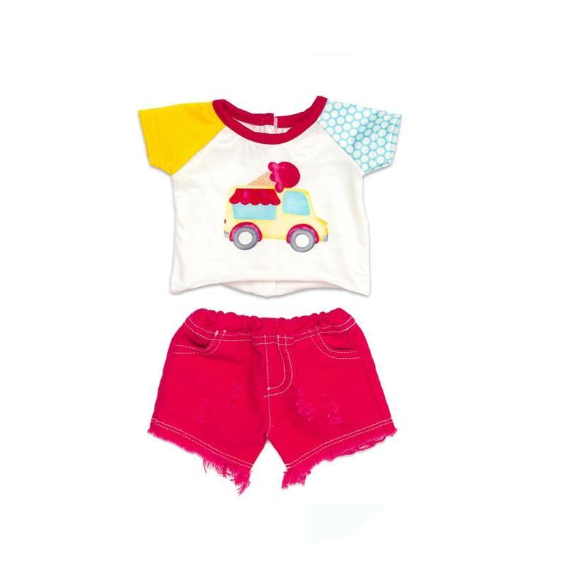 Summer Toddler Baby Boy Girl Clothes Set Cotton Cartoon Car Short Sleeve T-shirt+Shorts Suit Kid Children Clothing Tracksuit 2-7 Sets