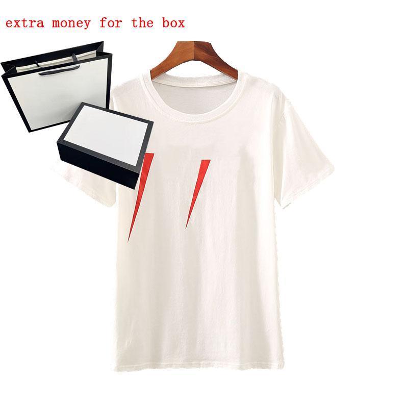 2021 Designers de luxe 20SS T-shirt T-shirt Designer lettre Imprimer Col Coucher Casual Summer Summer Hommes T-shirts Tops Solid Couleur Tops Tops en gros