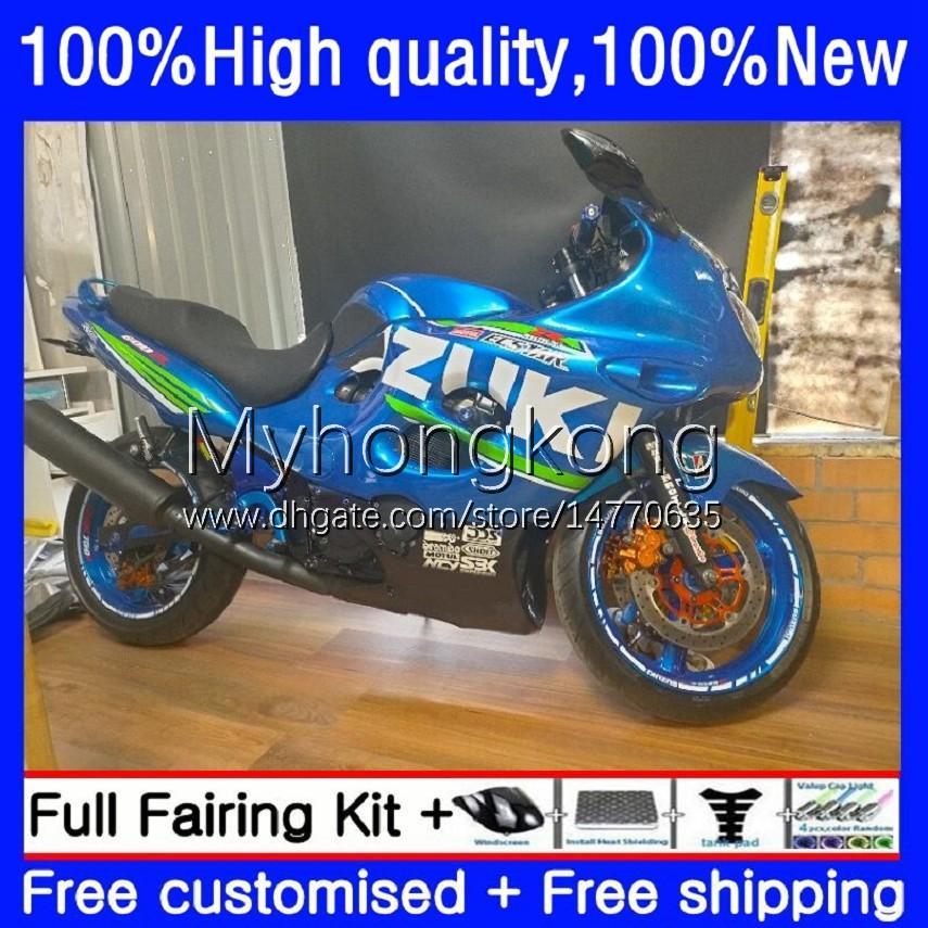 Owalnia dla Suzuki Katana GSXF 600 750 CC GSX600F GSXF750 GSXF-600 17NO.0 600CC 750CC GSX750F 98 99 00 01 02 GSXF-750 GSXF600 1998 1999 2000 2000 2002 Body Factory Blue