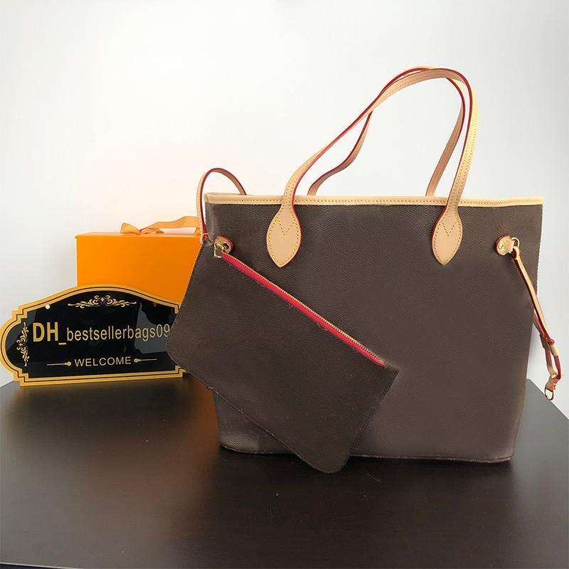 럭셔리 디자이너 토트 백 핸드백 여성 지갑 가방 + 작은 지갑 2 개 캐주얼 가방 높은 quanlity