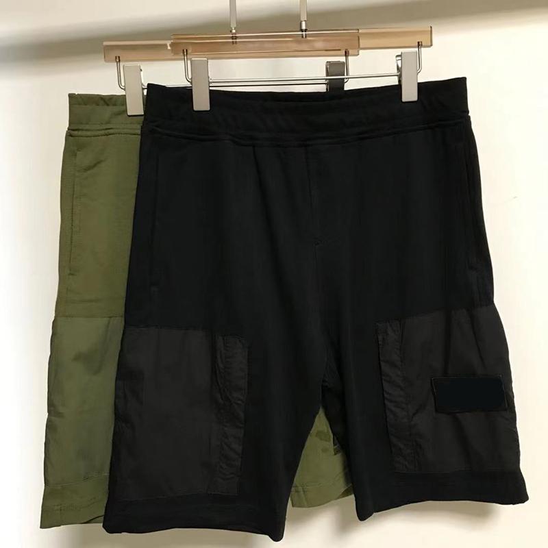 여름 캐주얼 솔리드 남성 반바지 유럽 및 미국 패션 브랜드 스포츠 바지 휴일 비치 카프리스 순수 면화 편안한 다재다능한