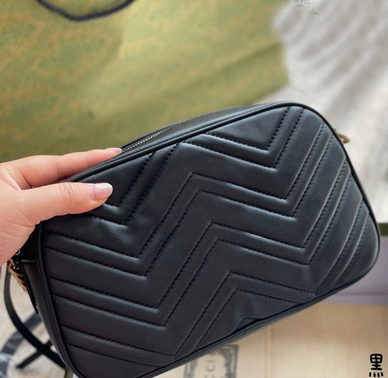 2021 حقيبة الكاميرا الكلاسيكية الفاخرة مصمم السيدات حقيبة الكتف حقيبة جلد السيدات حقيبة يد pressbyic محفظة رسول حقيبة الظهر