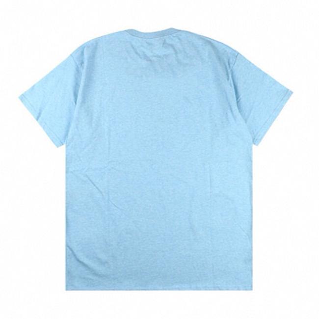 Casual para hombre camiseta de moda Sudadera Imprimir letra O-cuello de algodón Streetwear Pareja 6 estilos Tamaño M-XL
