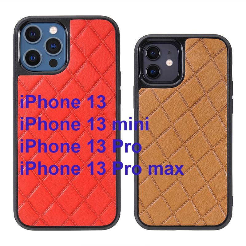 الفاخرة الهاتف geunine الحالات الجلدية لفون 13 ميني برو ماكس حالة iphone13 أغطية صدمات