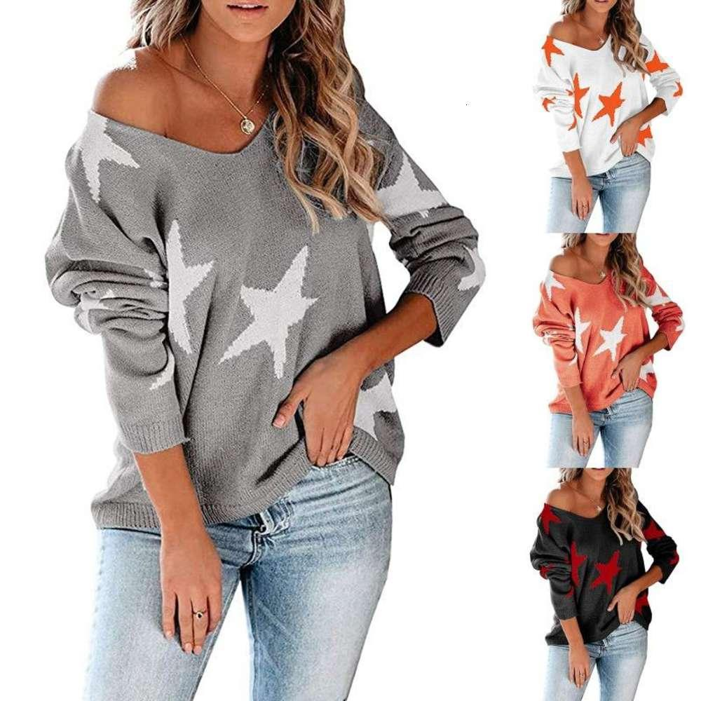 Women V Neck Sweater Knitted Jumper Sexy Oblique One Shoulder Pull Vintage EMO Y2K Ugly Grunge Indie Aesthetic Top Jersey Sweaters