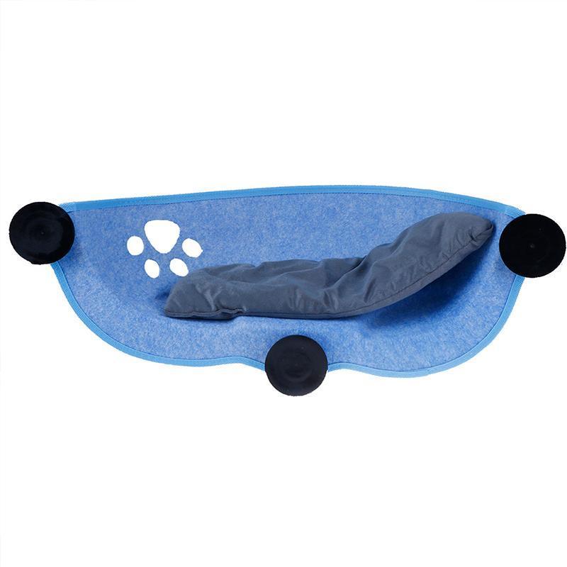 고양이 침대 가구 해먹 침대 창 깍지 안락의 흡입 컵 따뜻한 애완 동물 휴식 하우스 부드럽고 편안한 케이지