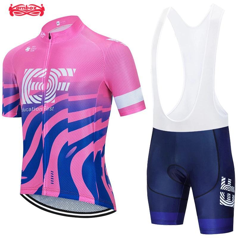 Racing Sets EF Pro Team Women's Cycling Clothing Summer Mountain Bike Bicycle Clothes Anti-UV Ropa Ciclismo