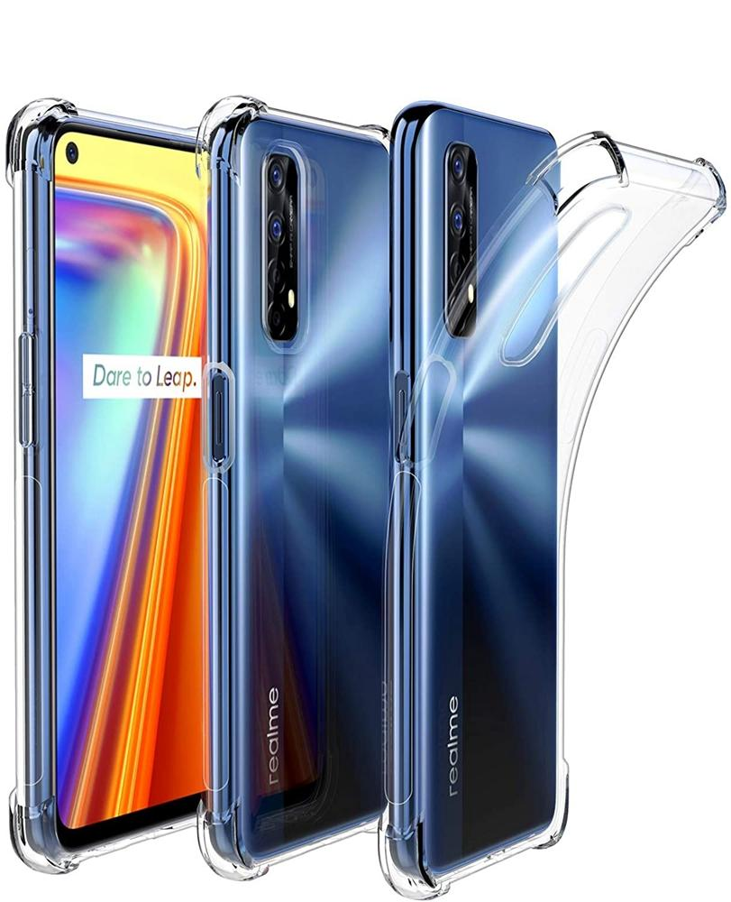 1.5mm Airbag Anti-shock Crystal Clear TPU cases cover for Oppo Reno 6 Pro Plus 5G Realme X7 Pro C20 C21 100PCS/LOT