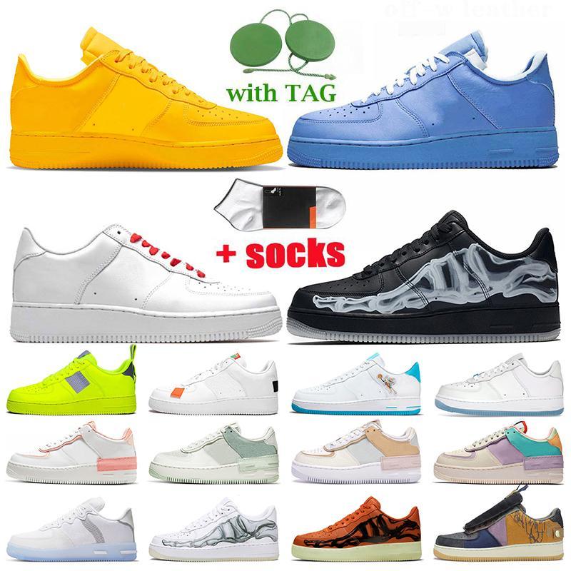 Nike Air Force 1 Travis Scott N354 Off White Chaussures de course pour femmes de qualité supérieureObligerAir Travis Airforce 1 Sneakers