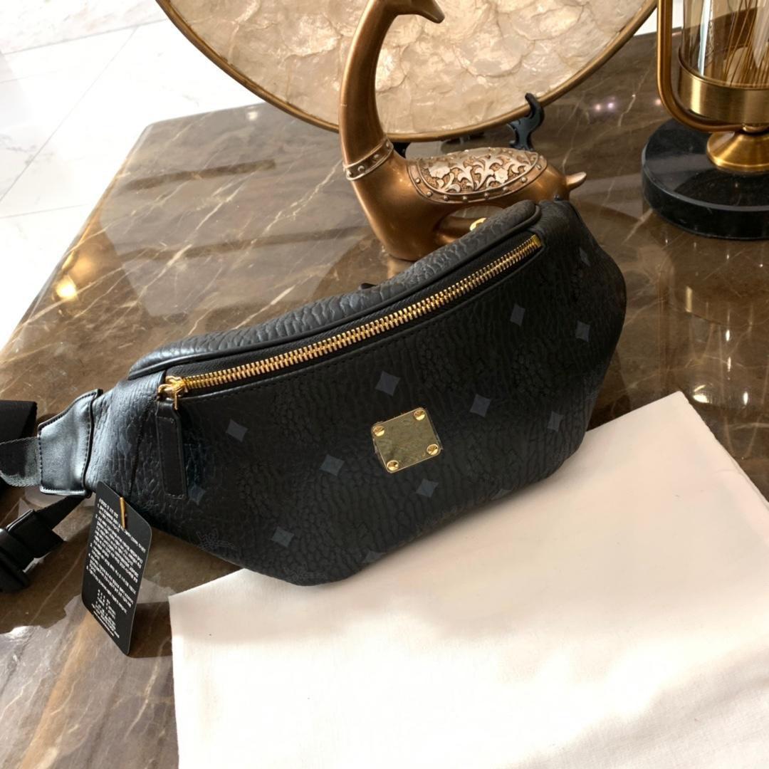 Designer Fanny Pack Luxo Bumbag Mulheres Homens Marca Designer Bags Top Quality Designer Carta Impressão Cintura Sacos