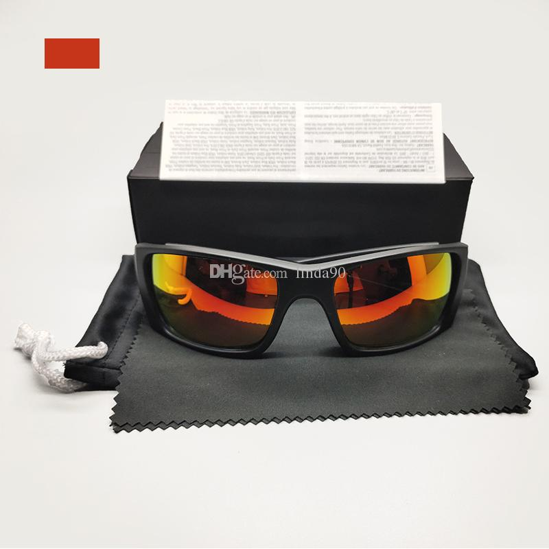 패션 브랜드 안경 선글라스 남자의 운전 특수 편광 된 거울 렌즈 스포츠 사이클링 야외 자전거 안경 TR90 프레임 없음 9096