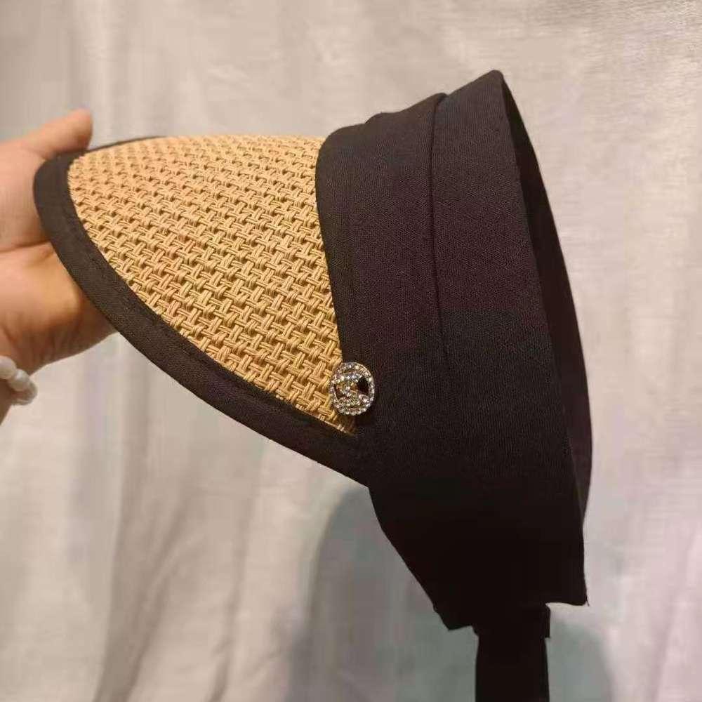 Tidal Seaside Esternalummer Net Red Hollow con trapano Paglia Mostra Giovane vitalità Cappello da parasole solare solare