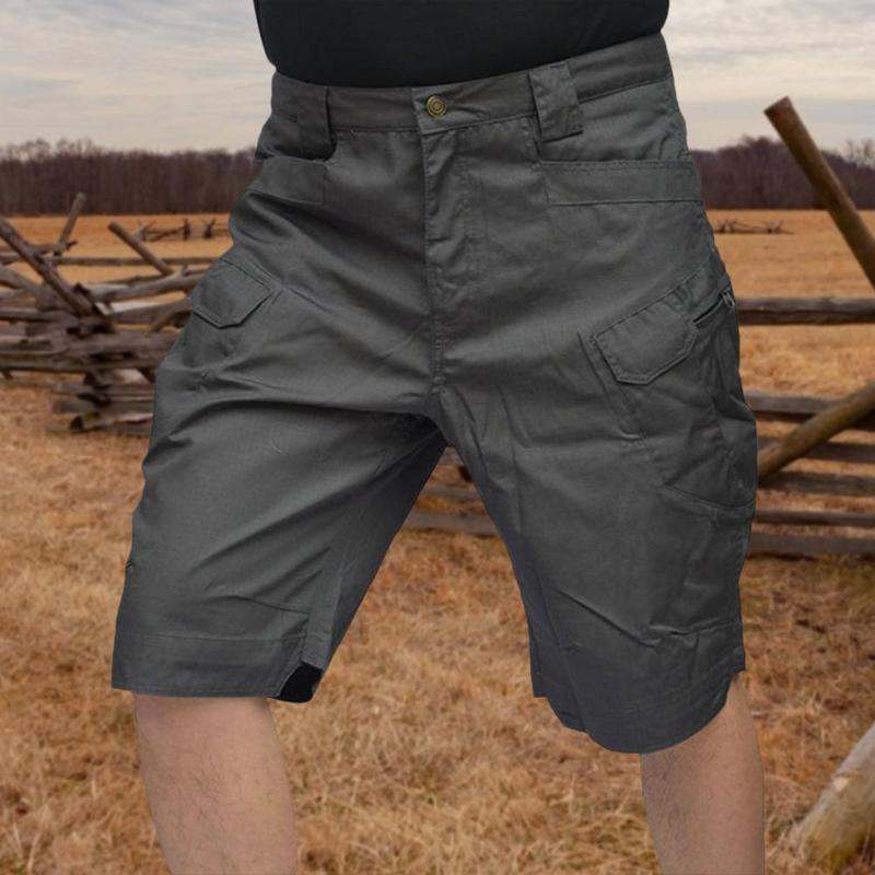 Men's Shorts Tactical Men Waterproof Quick Dry Camo Short Pant Soft Comfort Hiking Overalls Summer Training Suits