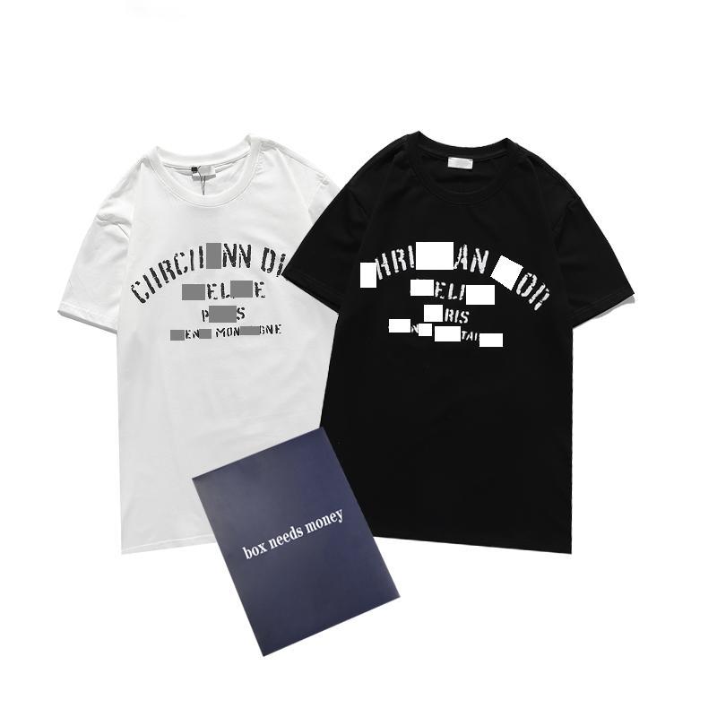 2021 T Shirt T-shirt da uomo T-shirt classica stampa stampa estate traspirante moda coppie gioventù di alta qualità Tops all'ingrosso Semplice e chic Size S-2XL