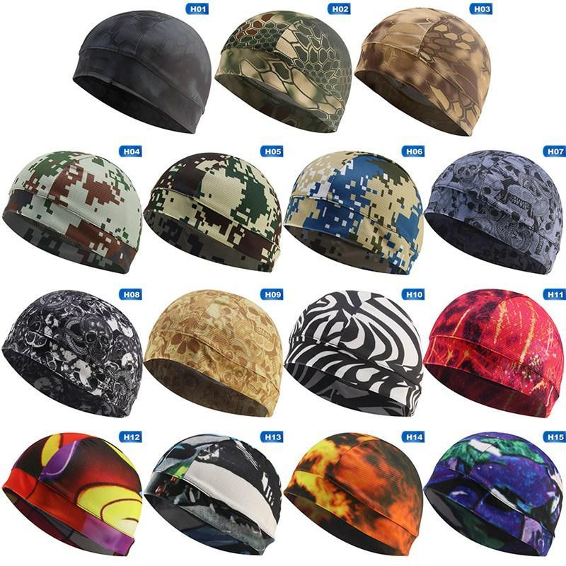 Cycling Caps & Masks Quickly Drying Mens Hat Skull Cap Bike Under Helmet Riding Outdoor Sport Bicycle Equipment