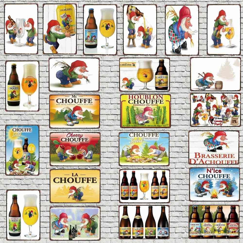 Belga Beer Signs Decorative Signs Plaque Metal Kitchen Vintage Wall Music Bar Home Restaurante Art Hombre Cueva Decoración 30x20CM DU-4910A Q0331