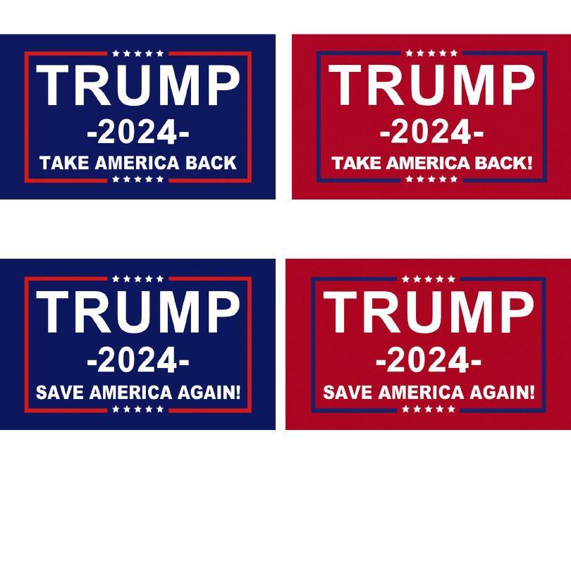 Трамп Флаг 2024 Избирательный баннер Дональд Храните Америку СНОВА СНОВА СНОВАЯ ИВАНКА Флаги 150 * 90см 3x5ft HH21-378