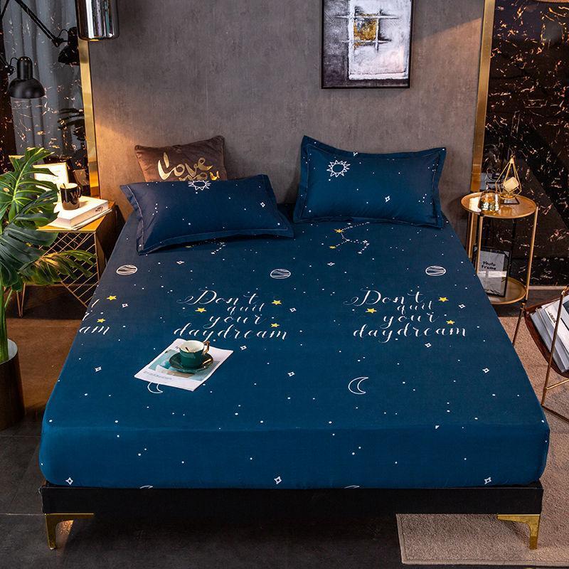 Conjuntos de lençóis engrossar a folha de cama lixada coberta de tampa dupla respirável mesa de massagem
