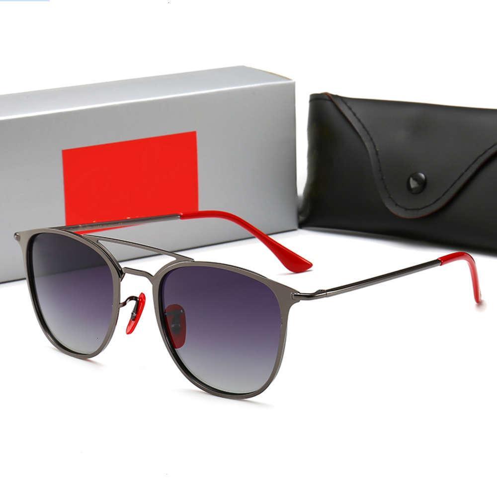 أزياء نظارات شمسية مصمم رجالي الرجعية الاستقطاب الذهب الفاخرة مطلي مربع إطار العلامة التجارية الشمس نظارات نظارات مع القضية