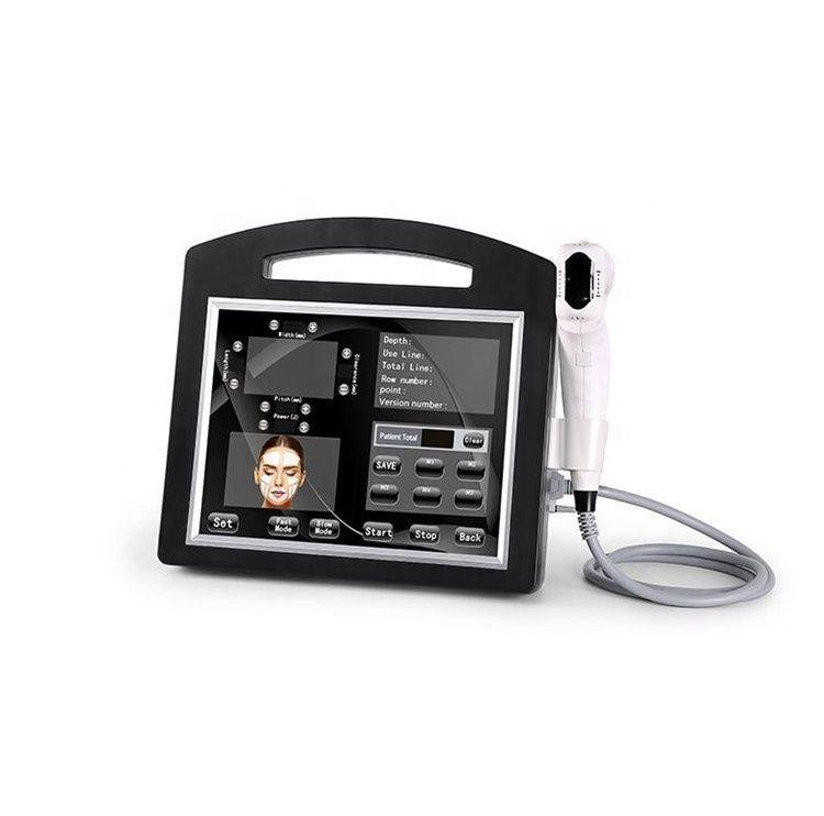 الجمال 4D الموجات فوق الصوتية الوجه رفع 12 خطوط خراطيش مكافحة الشيخوخة معدات مع المهنية 20000 لقطات تشديد الجلد الجسم التخسيس هفوق آلة