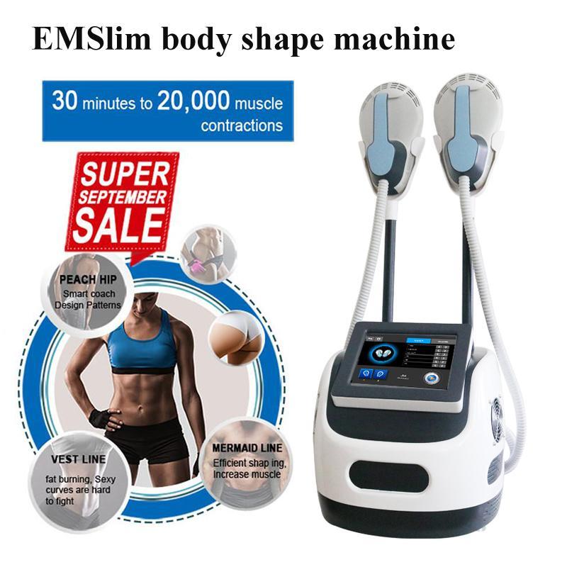 Músculos electromagnéticos no invasivos construir el estimulador de conformación de forma de alta frecuencia Electro magnético Emslim EMS Forma Máquina para adelgazar