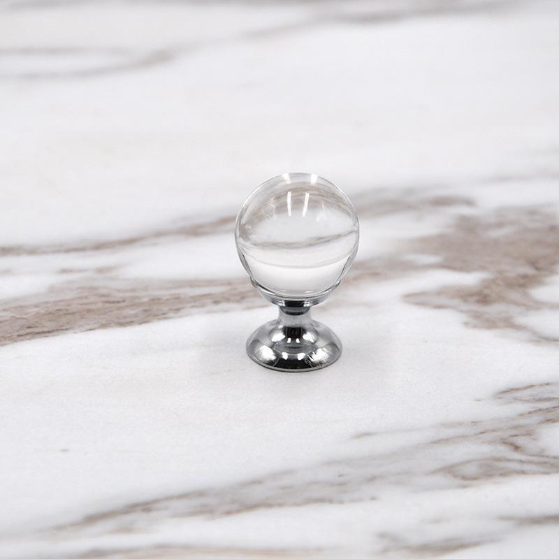 20mm 25mm 30mm 40mm gaveta de bola gaveta puxadores puxa prata cromo cristal bola cômoda porta alças Qylapi DH_Seller 485 v2