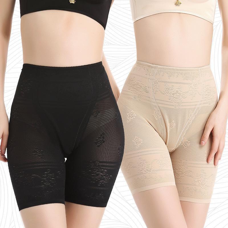 Dairyz Safety Pantalones de seguridad Luz Femenino Verano Traseless Mid Cintura Cuerpo Forma de gran tamaño MM MM Nalgas Llevar Leggings