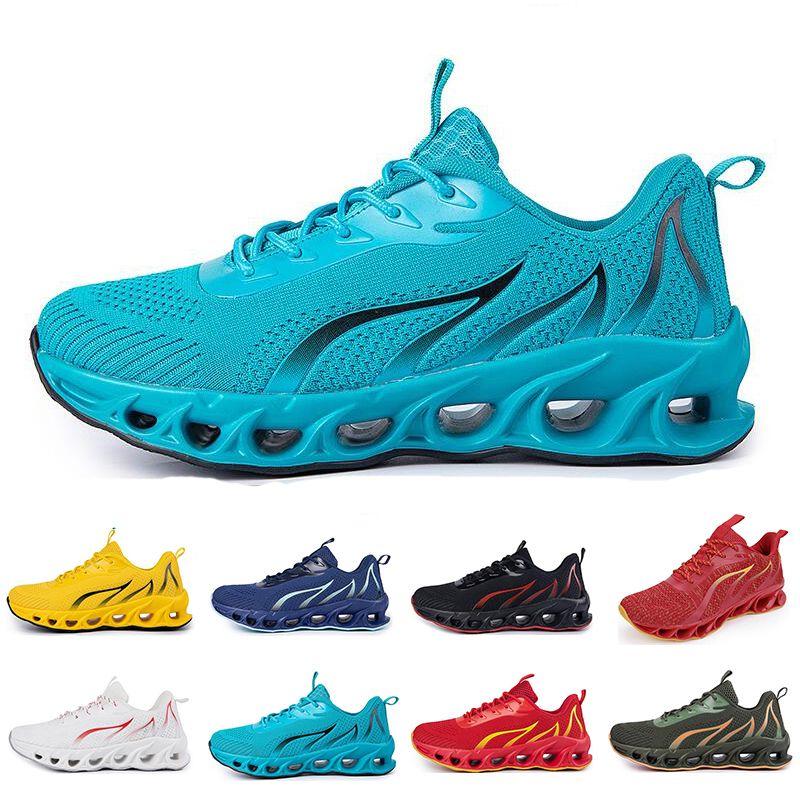 Zapatillas sin marca Hombres Moda Entrenadores Triple Blanco Negro Amarillo Rojo Azul Blue Bred Mens Sports Sports Sneakers # 154